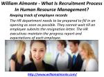 william almonte what is recruitment process in human resource management 3