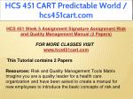 hcs 451 cart predictable world hcs451cart com 19