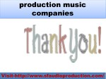 production music companies