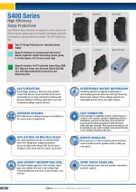 s400 series high efficiency surge protections