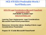 hcs 478 edu predictable world hcs478edu com 3