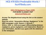 hcs 478 edu predictable world hcs478edu com 4