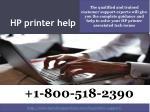hp printer help