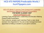 hcs 475 papers predictable world hcs475papers com 19