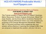 hcs 475 papers predictable world hcs475papers com 21