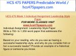 hcs 475 papers predictable world hcs475papers com 4