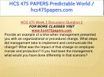 hcs 475 papers predictable world hcs475papers com 7