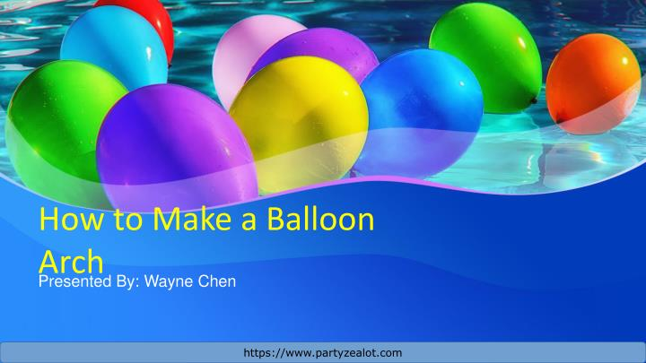 how to make a balloon arch n.