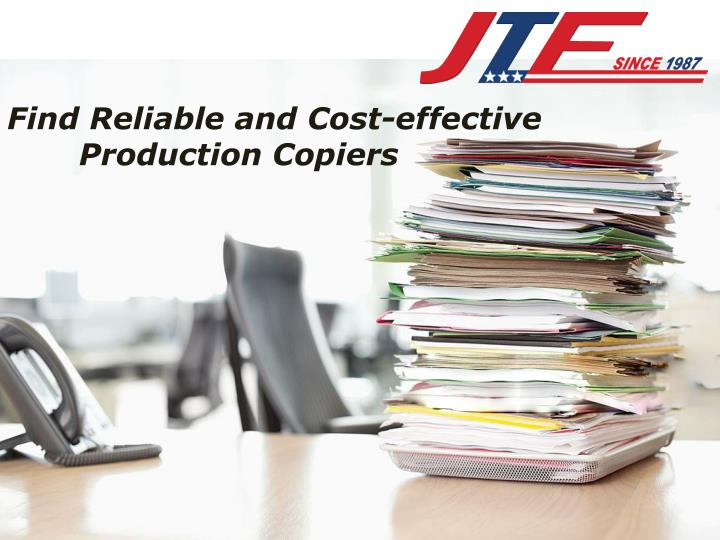 find reliable and cost effective production n.