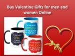 buy valentine gifts for men and women online