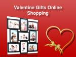 valentine gifts online shopping