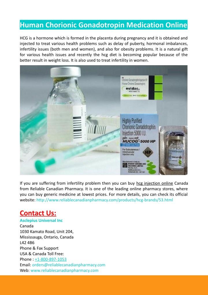 human chorionic gonadotropin medication online n.