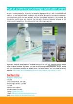 human chorionic gonadotropin medication online
