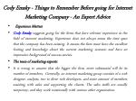 cody emsky things to remember before going for internet marketing company an expert advice 3