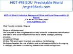mgt 498 edu predictable world mgt498edu com 12