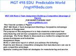 mgt 498 edu predictable world mgt498edu com 13