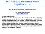 mgt 498 edu predictable world mgt498edu com 19