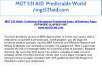 mgt 521 aid predictable world mgt521aid com 17