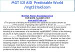 mgt 521 aid predictable world mgt521aid com 28
