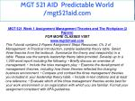 mgt 521 aid predictable world mgt521aid com 5