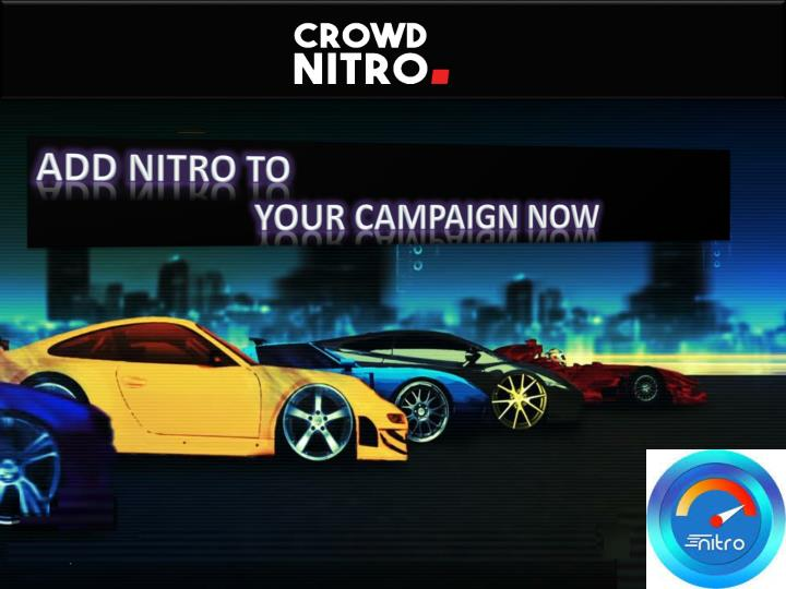 add nitro to your campaign now n.