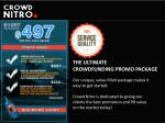 the ultimate crowdfunding promo package