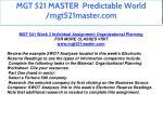 mgt 521 master predictable world mgt521master com 26