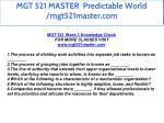 mgt 521 master predictable world mgt521master com 28