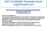 mgt 521 master predictable world mgt521master com 30