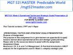 mgt 521 master predictable world mgt521master com 38