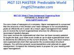 mgt 521 master predictable world mgt521master com 39
