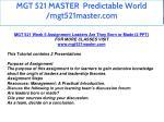 mgt 521 master predictable world mgt521master com 40