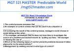 mgt 521 master predictable world mgt521master com 48