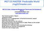 mgt 521 master predictable world mgt521master com 5