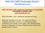 hhs 435 cart predictable world hhs435cart com 2