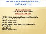 hm 370 rank predictable world hm370rank com 1