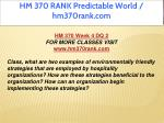hm 370 rank predictable world hm370rank com 13