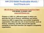 hm 370 rank predictable world hm370rank com 15