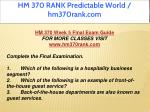 hm 370 rank predictable world hm370rank com 17