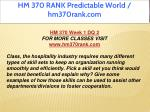 hm 370 rank predictable world hm370rank com 3