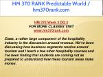 hm 370 rank predictable world hm370rank com 9