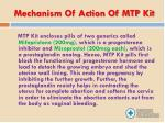 mechanism of action of mtp kit