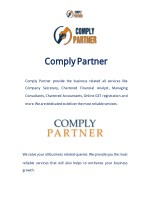 comply complypartner