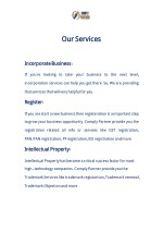 our ourservices services