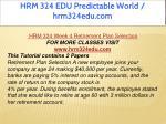 hrm 324 edu predictable world hrm324edu com 17