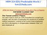 hrm 324 edu predictable world hrm324edu com 6