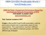 hrm 324 edu predictable world hrm324edu com 9