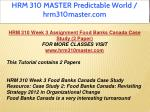 hrm 310 master predictable world hrm310master com 12