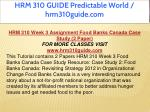 hrm 310 guide predictable world hrm310guide com 12