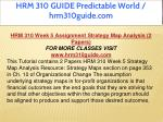 hrm 310 guide predictable world hrm310guide com 23